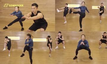 全身增肌消脂HIIT必練5個動作!型男索女教練陪你3分鐘爆汗減脂