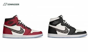 Air Jordan 1 x Dior 3款新色發售?隨便一種配色皆瘋搶