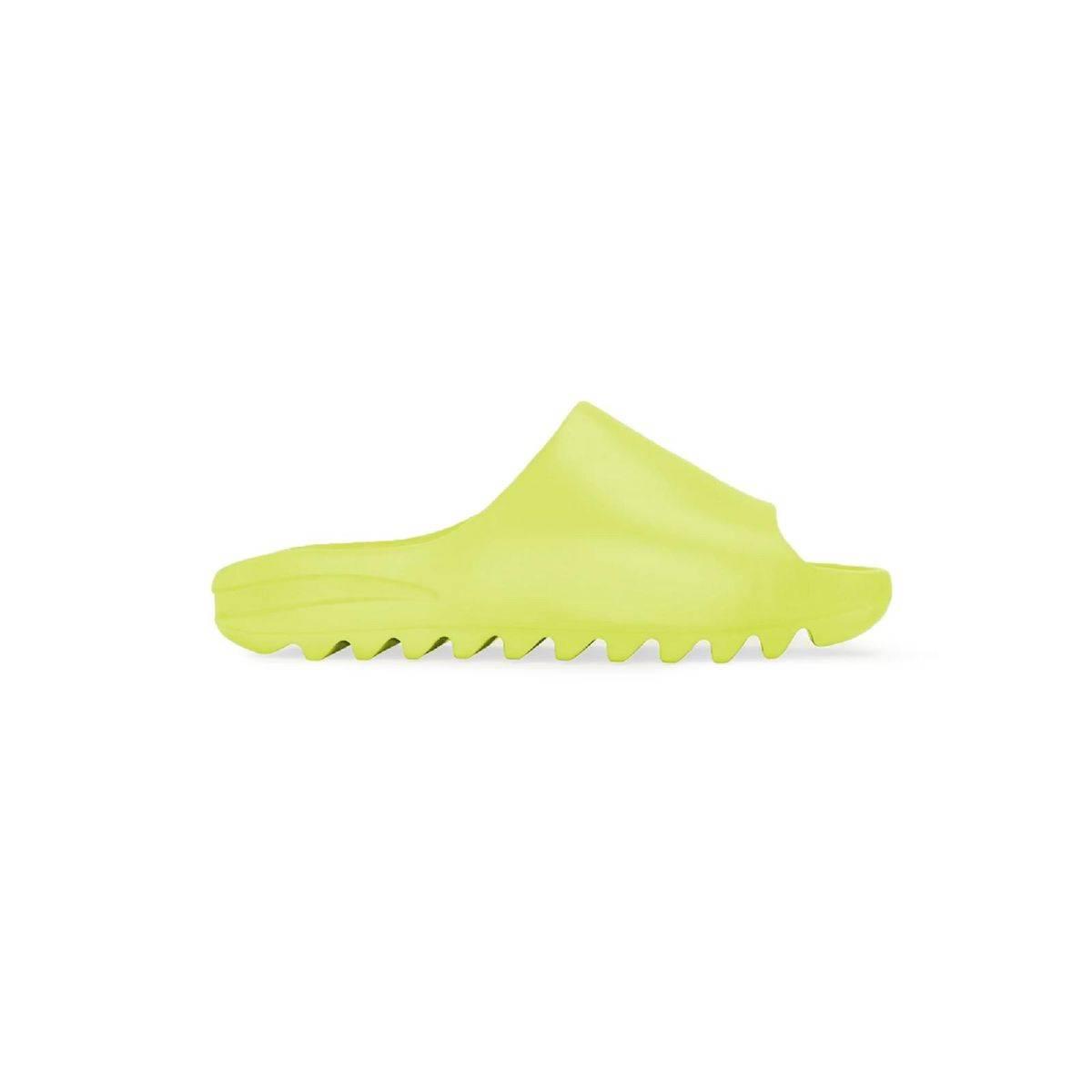 adidas + Kanye West YEEZY Slide 新色 Glow Green首度曝光!奪目吸睛配色完美勝出