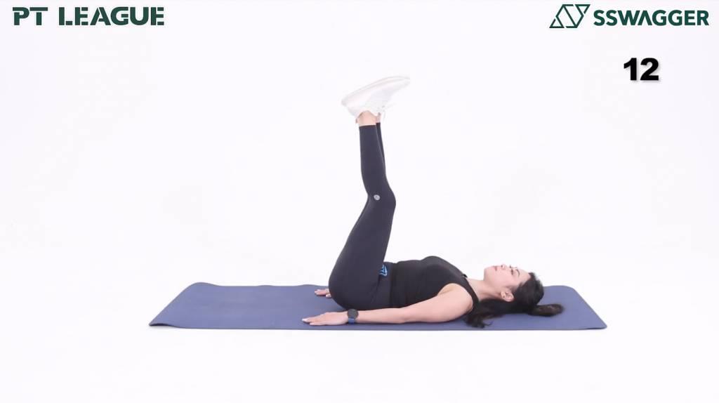 瘦小腹運動5分鐘即可!健身教練示範6個動作鍛鍊更緊實腹部 - Leg Raise