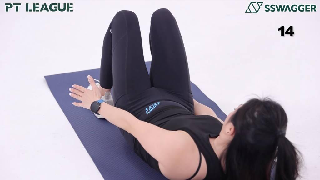 瘦小腹運動5分鐘即可!健身教練示範6個動作鍛鍊更緊實腹部 - Heel Touch