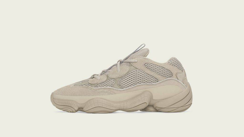 adidas YEEZY 500 Taupe Light khaki colourway with a darker hue monotone design to be released on June 5th