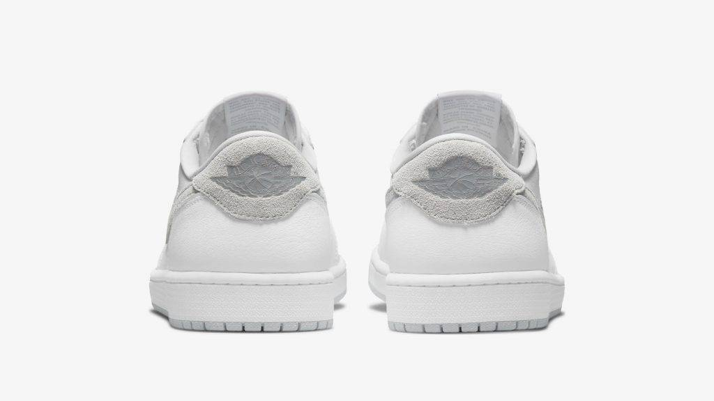 """Air Jordan 1 Low OG """"Neutral Grey"""" white and grey colourway"""