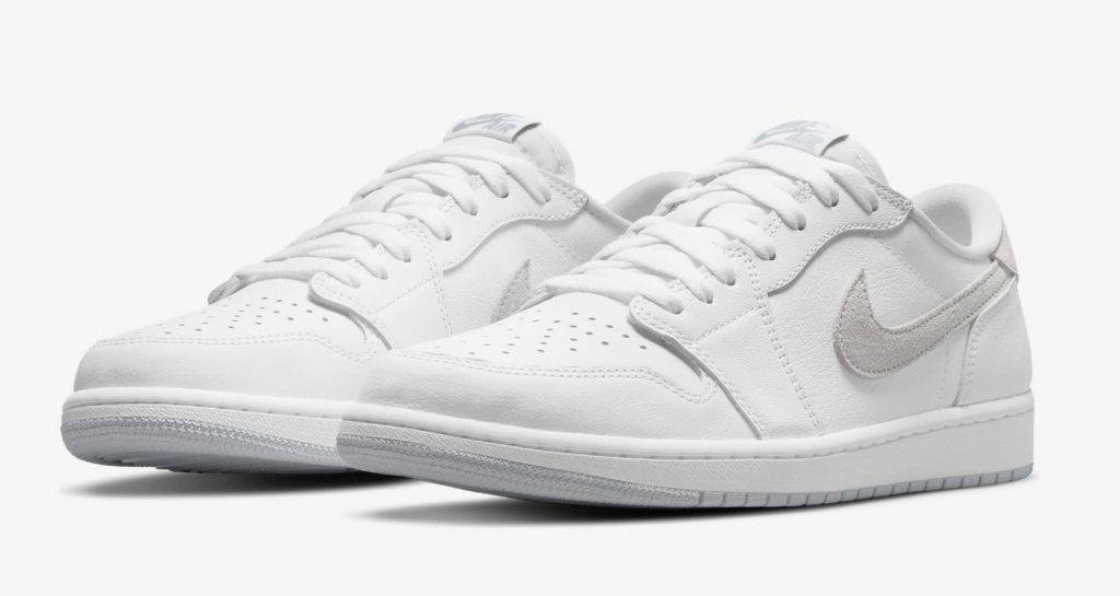 Air Jordan 1 Low OG Neutral Grey white and grey colourway