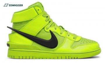AMBUSH x Nike Dunk High Flash Lime實物首現!螢光色系引鞋迷入手