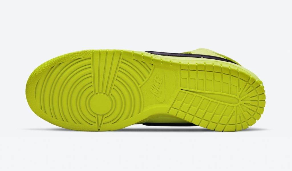 AMBUSH x Nike Dunk High「Flash Lime」