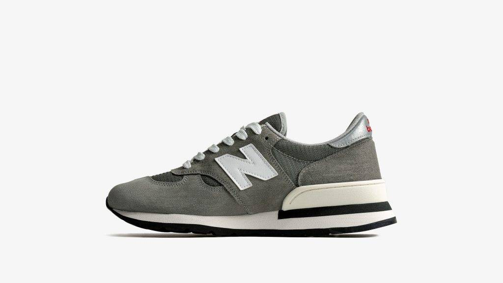 New Balance 990V1 grey red white colourway to be released on June 17th