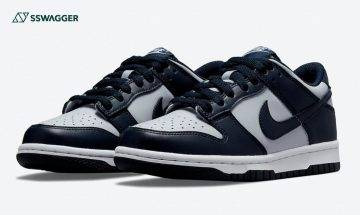 Nike Dunk Low Georgetown官方圖釋出!元祖大學配色經典再現