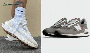 sacai x Nike Vaporwaffle Sail諜照、NB 990 V1抽籤等!今週5對注目球鞋