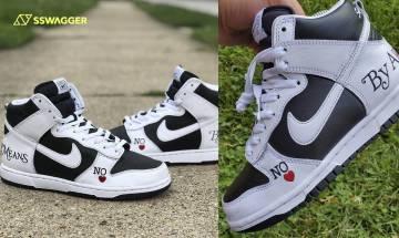 Supreme x Nike SB Dunk Hi By Any Means樣本流出!延續王牌鞋款傳統