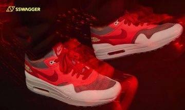 CLOT x Nike Air Max 1 K.O.D. Solar Red抽籤開始!僅4雙親友版終量產現身