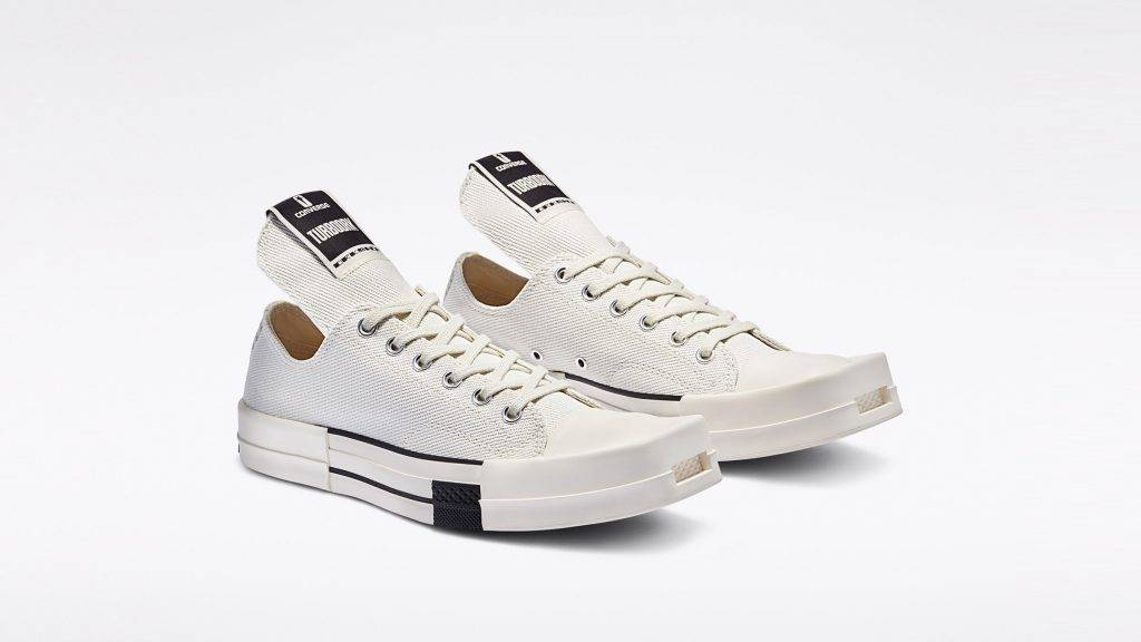 Converse TURBODRK x DRKSHDW black and white colourway