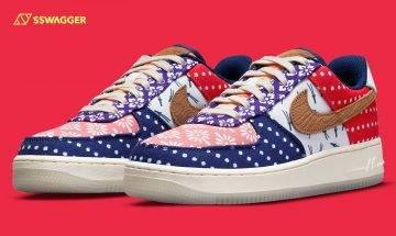 Nike Air Force 1 Matsuri官方圖曝光!拼布為球鞋注入祭典熱鬧氣氛