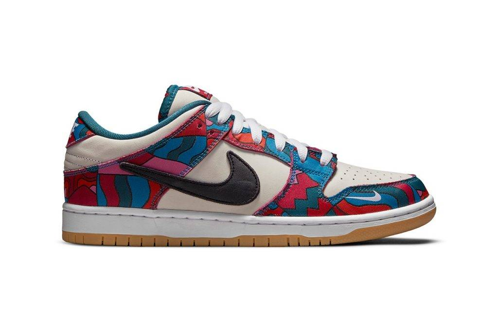 Nike SB collaborate with Parra、Gundam、FTC、Quartersnacks to launch Dunk Low and Dunk High for Tokyo Olympics