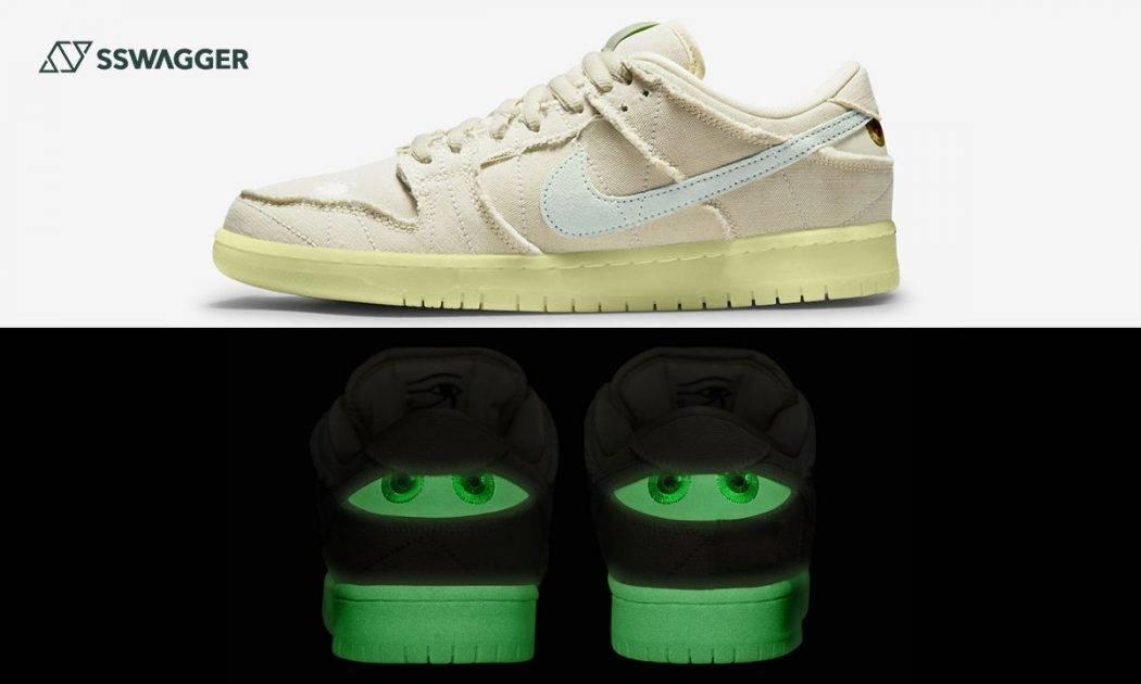 Nike-SB-Dunk-Low-Mummy官方圖現身!夜光木乃伊讓球鞋更富禮秘感-web