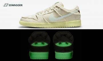 Nike SB Dunk Low Mummy官方圖現身!夜光木乃伊讓球鞋更富禮秘感