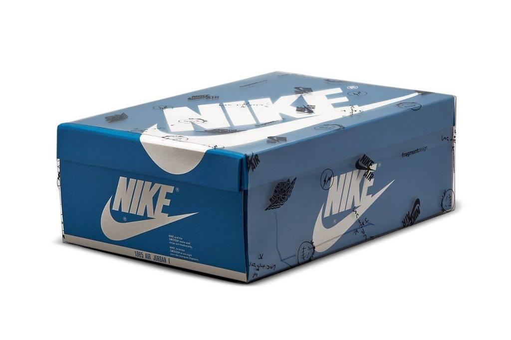 Travis Scott x fragment design x Air Jordan 1 Retro High 官方圖曝光!全方位近賞細節