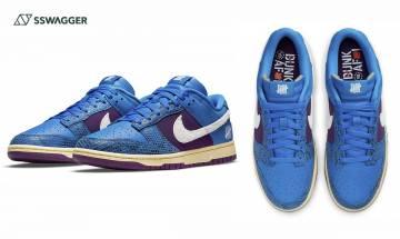 UNDEFEATED x Nike Dunk Low藍紫配色官方圖釋出!注入蛇鱗仿舊元素