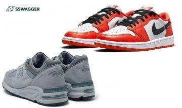 Air Jordan 1 Low Starfish、WTAPS x NB等!本週不能錯過之5對球鞋