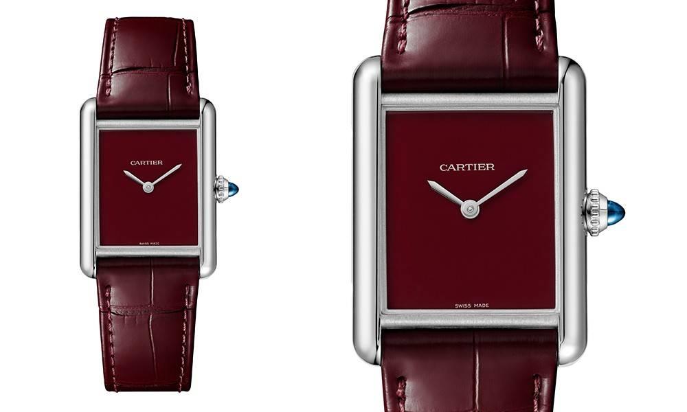 Cartier limited edition burgundy, blue and green 3 colors Tank Must watch Reference 4323 超限量3色原價入手機會來襲!買到絕對是賺到之單隻轉售價已達$5萬