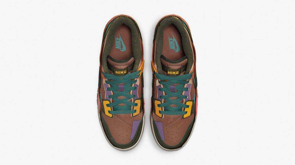 Nike Dunk Scrap Archeo Brown brown and multi colourway