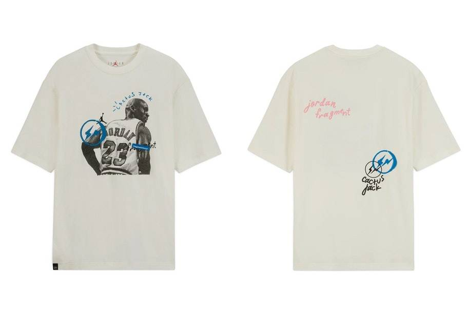 Travis Scott x fragment x Jordan hoodie T shirt and shorts collection