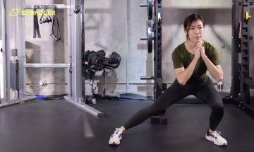 修飾腿部線條必練6式!#PTLeague健身教練示範下身鍛鍊塑造健康性感美