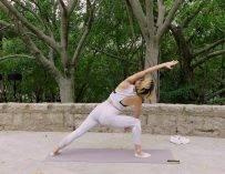 9MIN Hatha Flow// Beginner Level//Kris Yoga