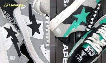 BAPE STA OG 2021全新3色上架情報!經典鞋款人氣持續高企