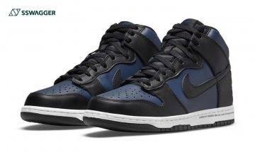 fragment design x Nike Dunk High Navy上架資訊發布!深色系+閃電logo成鞋迷必搶對象