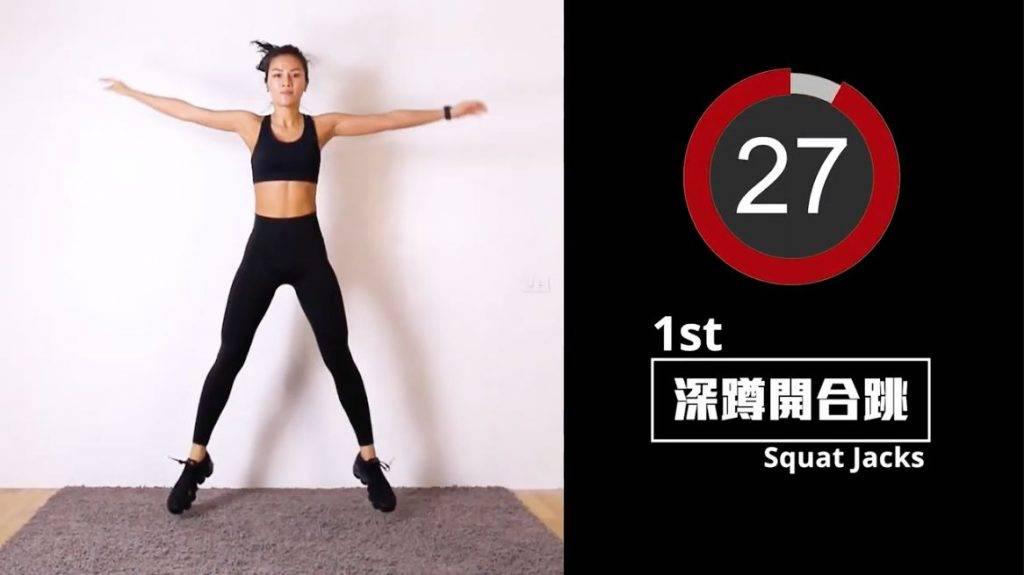 增肌減脂 High Intensity Interval Training HIIT 新手訓練!即學3個7分鐘爆汗燃脂全身運動