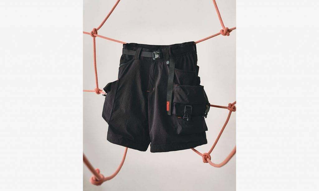 LAKH Supply x Topologie 全新別注系列 Twelve Pockets Cargo Shorts with Chalk Bumbag 及背帶⼿機保護殼!方便用家輕裝上陣之都市機能設計