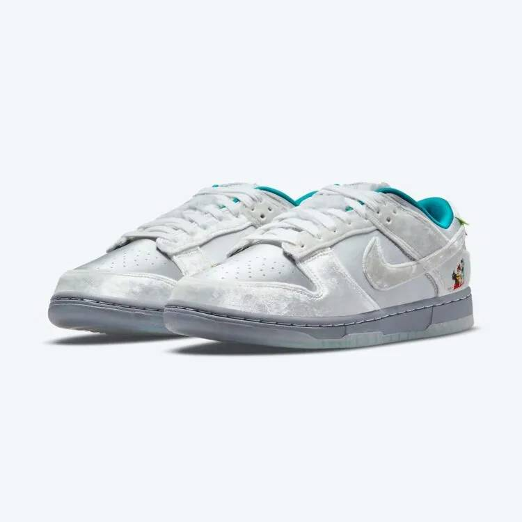 Nike new Dunk Low「Ice」首度曝光!鞋面現冬日冰雪祭滿載歡樂氣氛