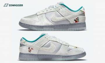 Nike Dunk Low Ice首度曝光!鞋面現冬日冰雪祭滿載歡樂氣氛