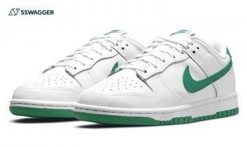 Nike Dunk Low White Green官方圖登場!簡約配色為用家帶來清新感