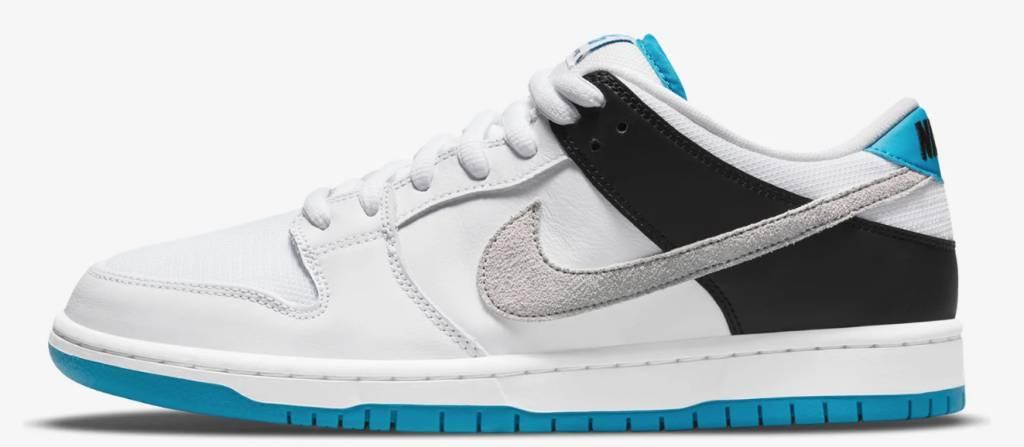 Nike SB Dunk Low white and Neutral Grey 接受抽籤!鮮明對比色調極吸引眼球
