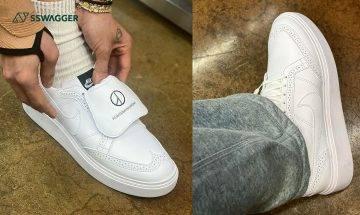PEACEMINUSONE x Nike Kwondo 1 GD親着示範!大家覺得球鞋還是皮鞋呢?