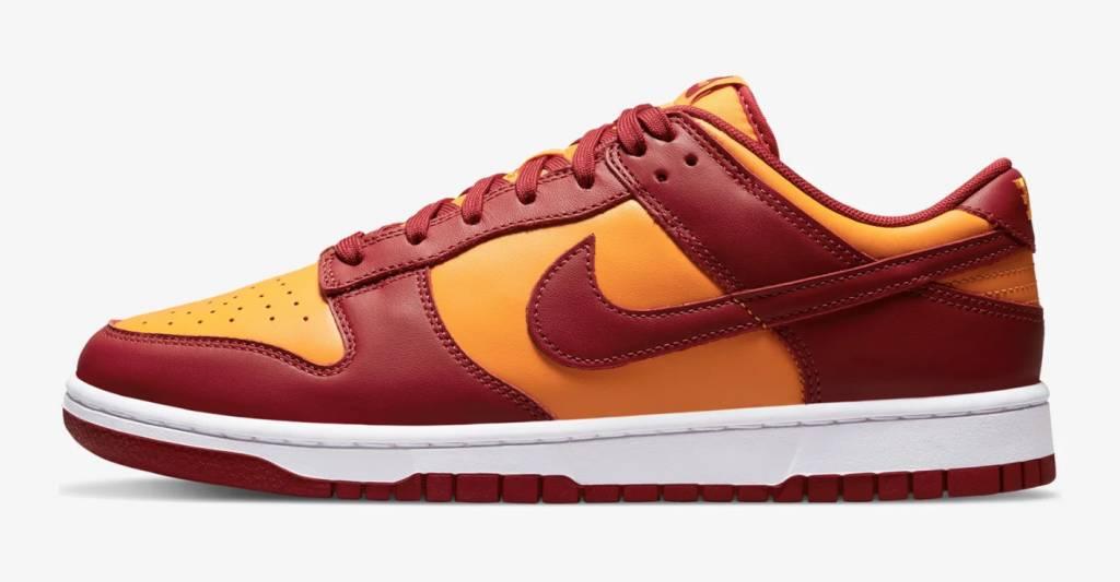 Nike Dunk Low「Midas Gold & Tough Red」接受抽籤!