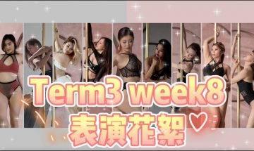 【2021Term3week8表演花絮大集合】pole dance || pole tricks || pole combo || 鋼管舞