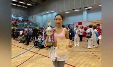第十三屆傳統武術國慶金杯公開賽|精英組太極拳銀盃:梁麗麗