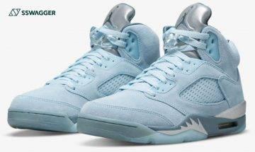Air Jordan 5 Retro Photo Blue接受抽籤!全粉藍色調極引人注目