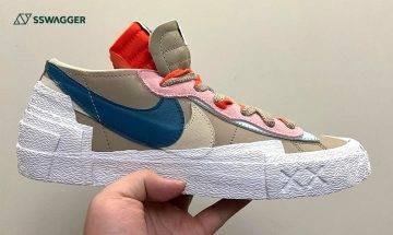 KAWS x sacai x Nike Blazer Low新色曝光!注目人氣鞋款待望上架