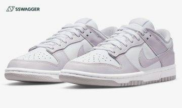 Nike Dunk Low Light Violet官方圖首現!人氣鞋款再添新成員
