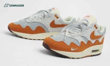Patta x Nike Air Max 1 Monarch接受抽籤!圍邊波浪紋麂皮注入獨特性