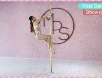 【Pole dance教室】2個Elbow grip || POLE TRICKS || 鋼管舞