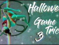 🧛♀️萬聖節遊戲第三個動作||pole dance||pole tricks||鋼管舞||halloween||GAME||