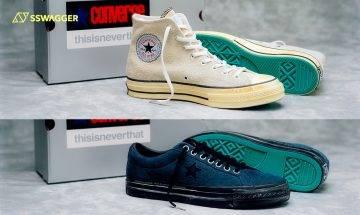 thisisneverthat x Converse New Vintage發售在即!舊化效果讓鞋款更富復古味道
